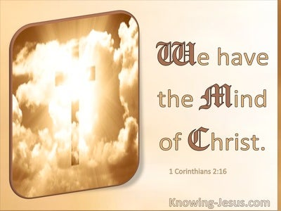 1 Corinthians 2:16 We Have The Mind Of Christ (windows)01:06